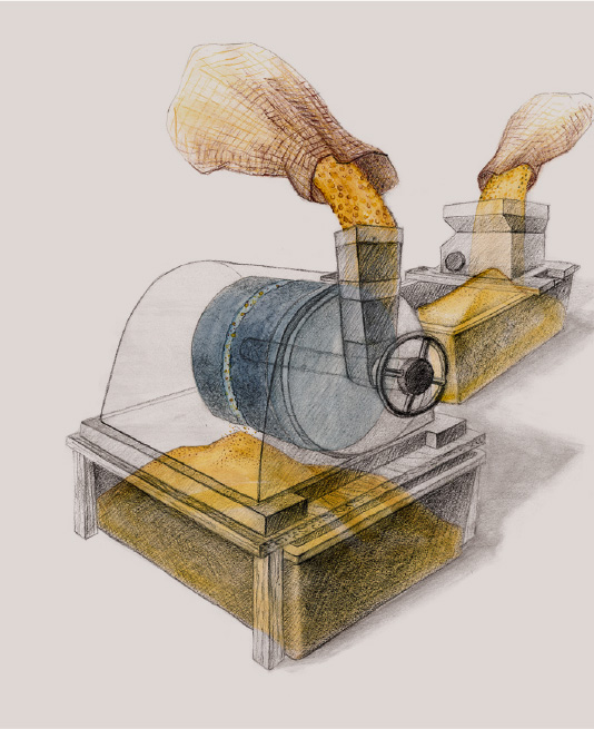 Stempelpresse (Produktionsverfahren)