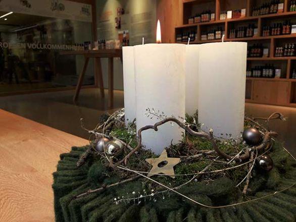 Genussvolles Weihnachtsshopping in der Ölmühle Fandler