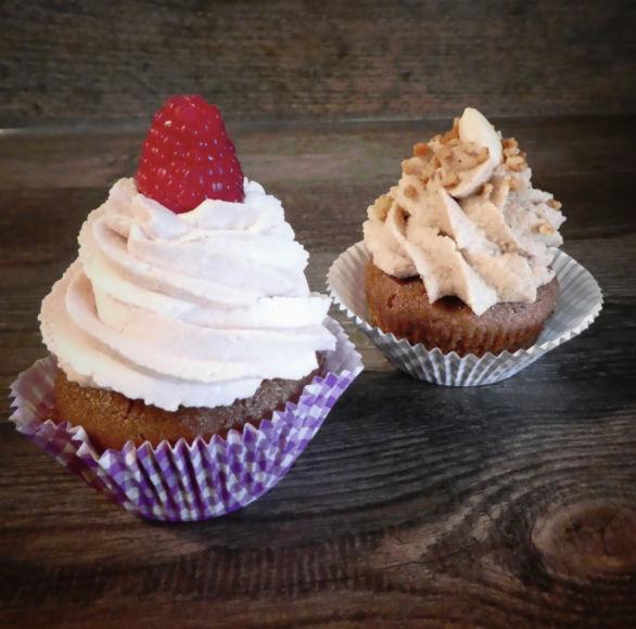 Mehlspeisenfräulein-Cupcakes in Heimarbeit