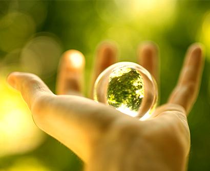 Natur liegt in deiner Hand