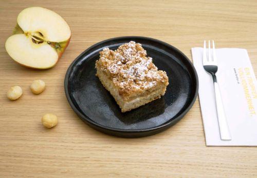 Macadamianuss-Streuselkuchen