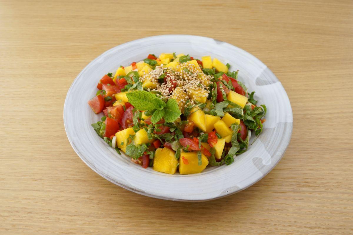 Mango Salza mit Sesamöl