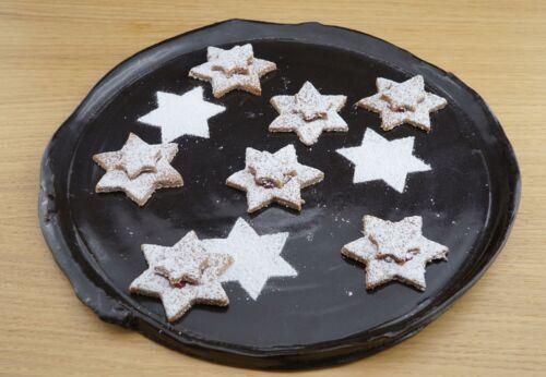 Buch[-]weizen-Leinsamen-Kekse mit Mohnöl