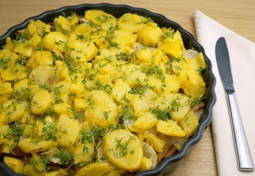 Kartoffel-Seitan-Auflauf