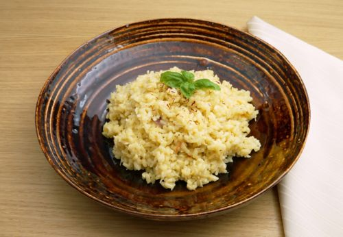 Kokos-Safran-Reis