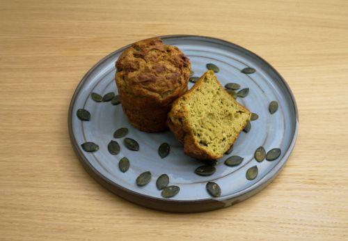 Kürbis-Erdäpfel-Muffins