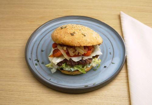 Lamm[-]burger