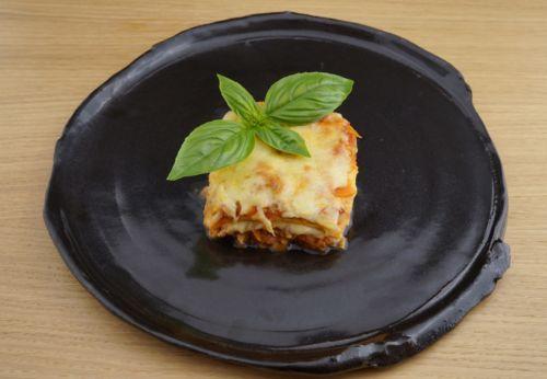 Low-Carb-Lasagne mit Erdnussöl